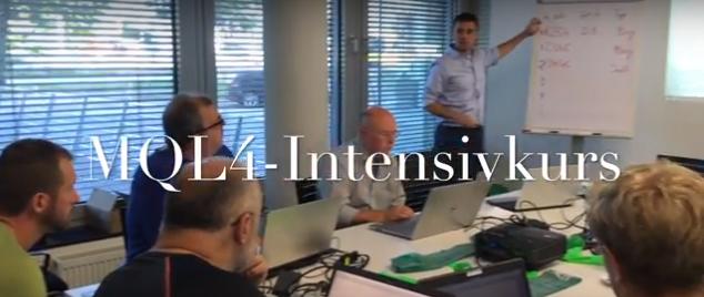 MQL4-Intensivkurs EA-programmieren lernen in Stuttgart