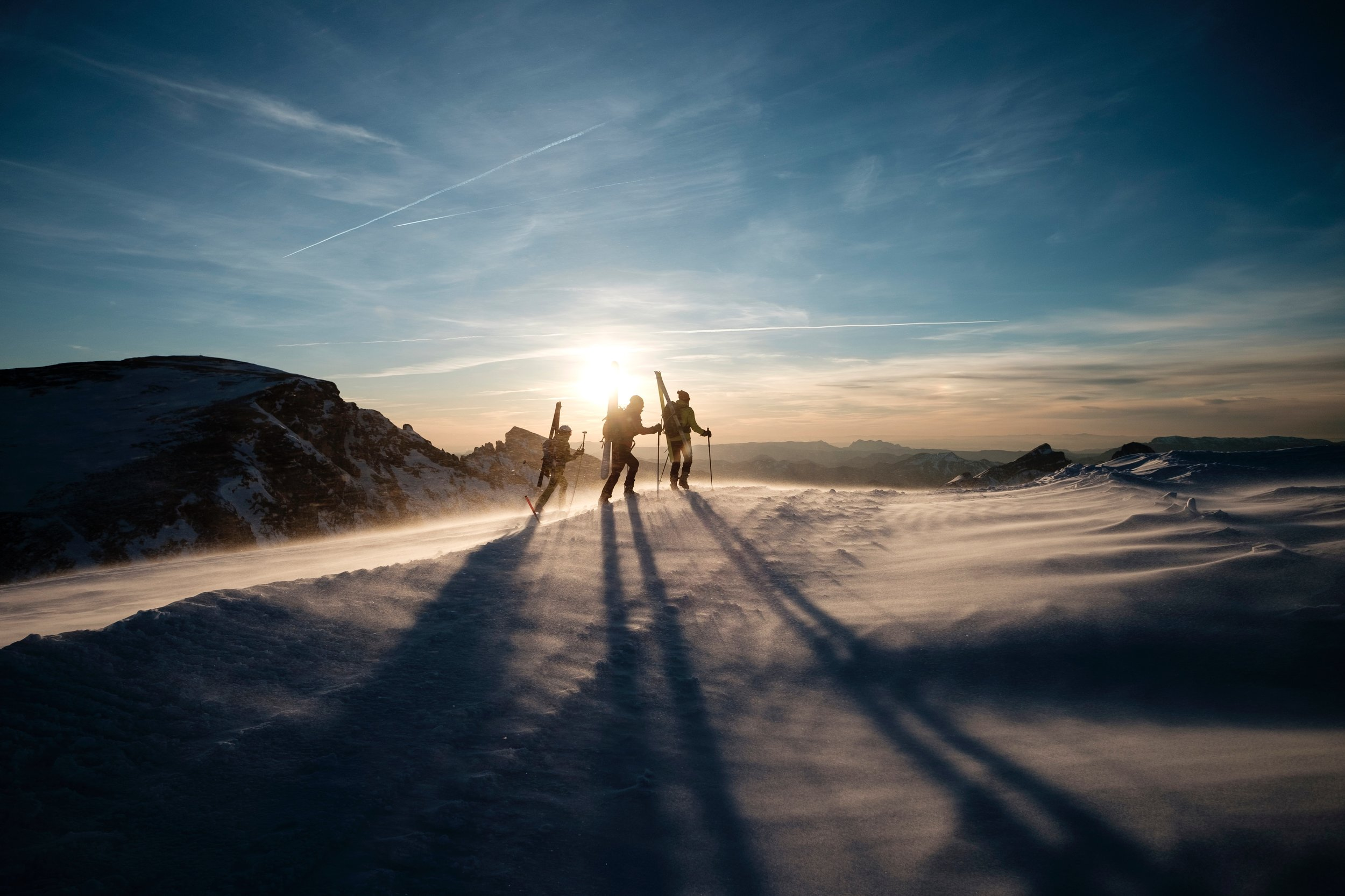 Was traden und skifahren gemeinsam haben können… Photo by Joris Berthelot