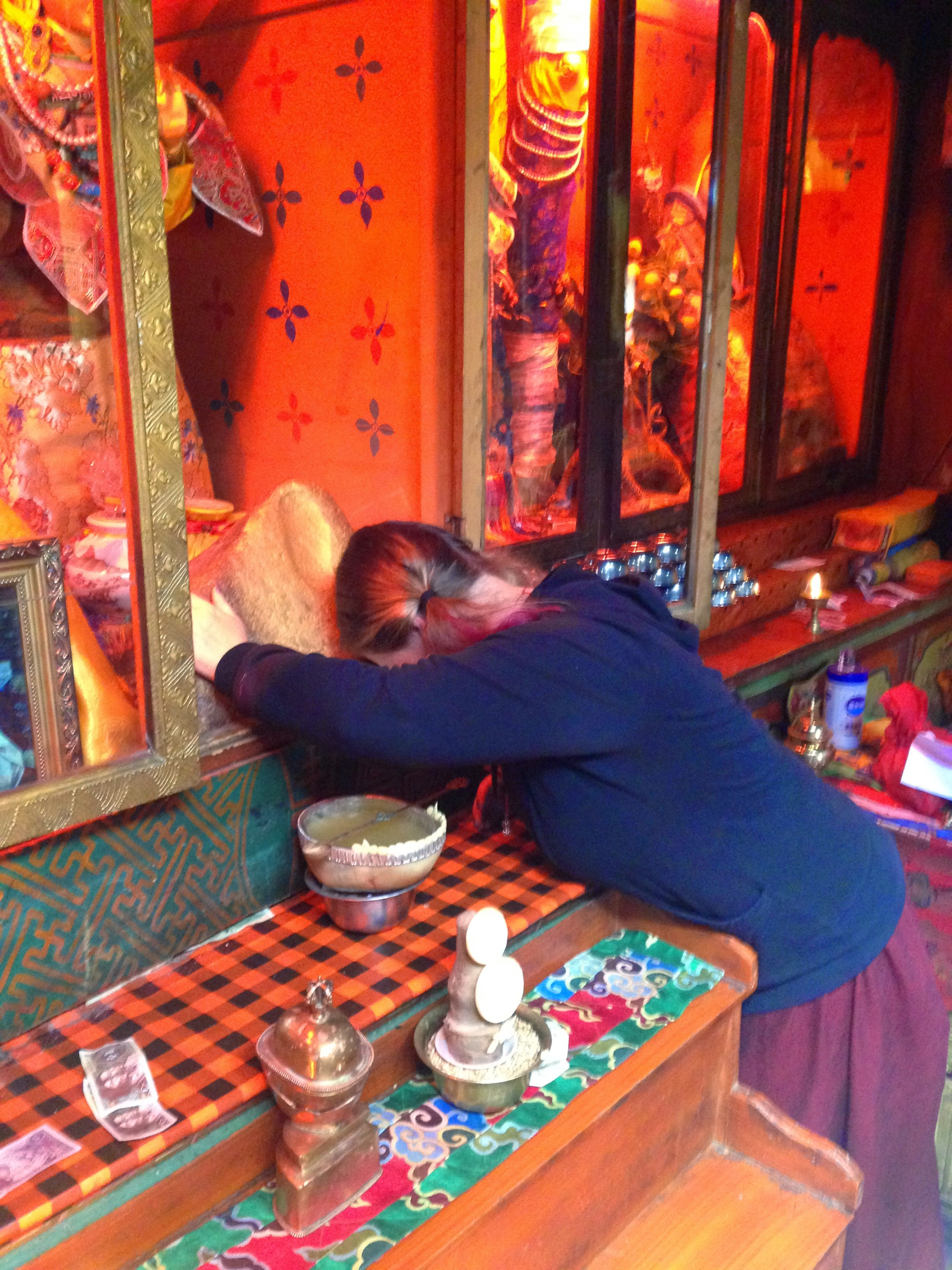 Yeshe at Tsogyal Latso in Central Tibet