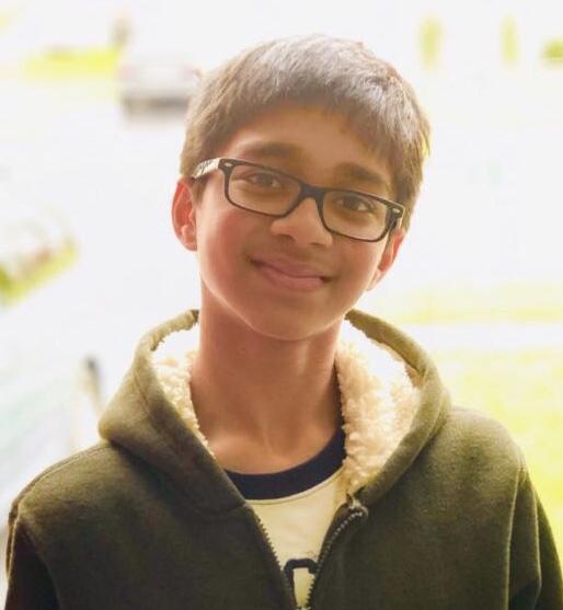 Rohan Sharma   9th Grade  West Windsor Plainsboro High School North, NJ