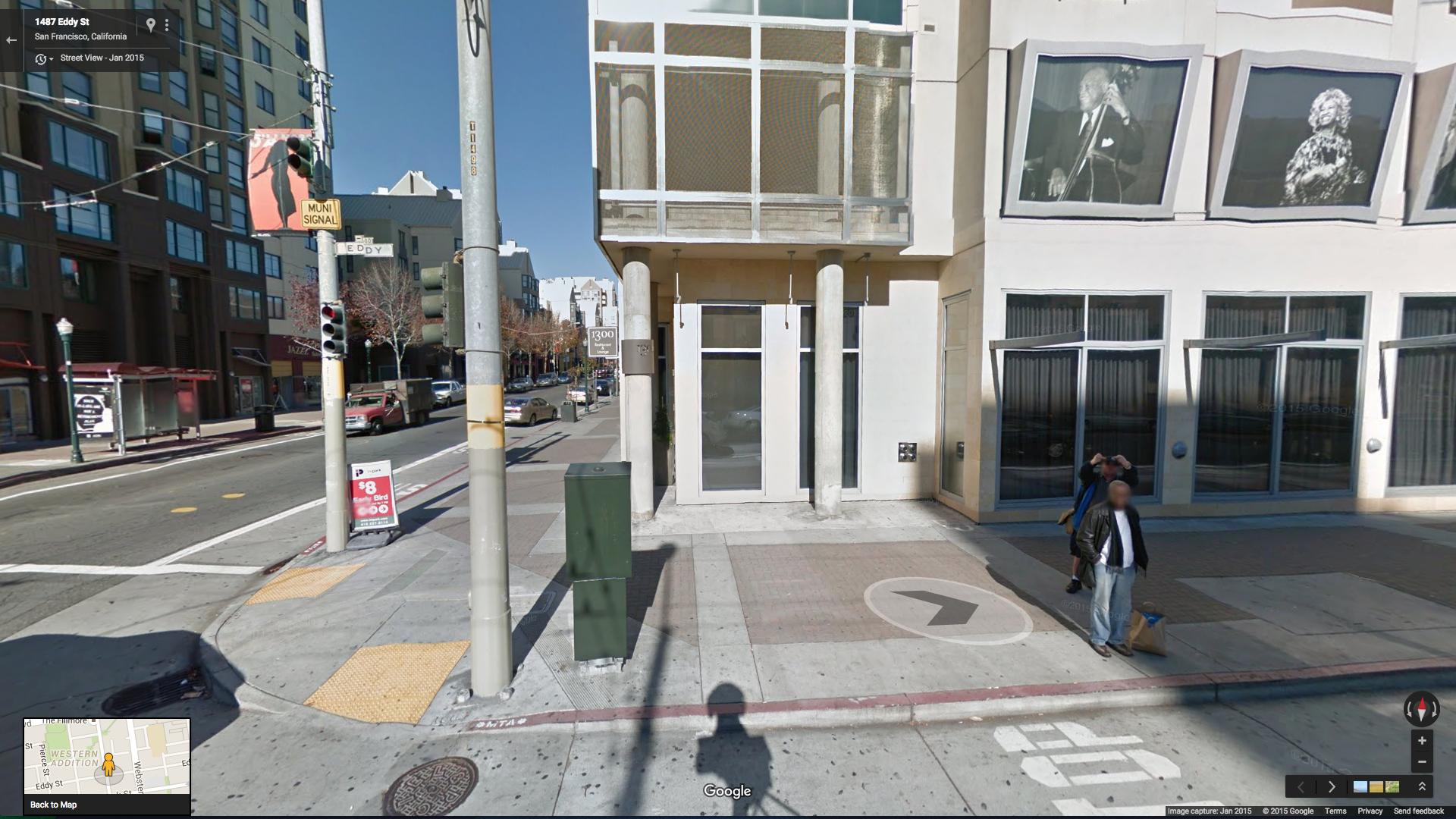 Matteo Bittanti,  The Google Street View Salute Series #5 , 2015
