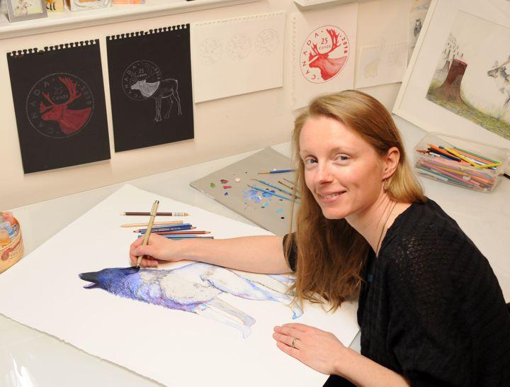 Sarah in studio w Howl wip - 72dpi.jpg