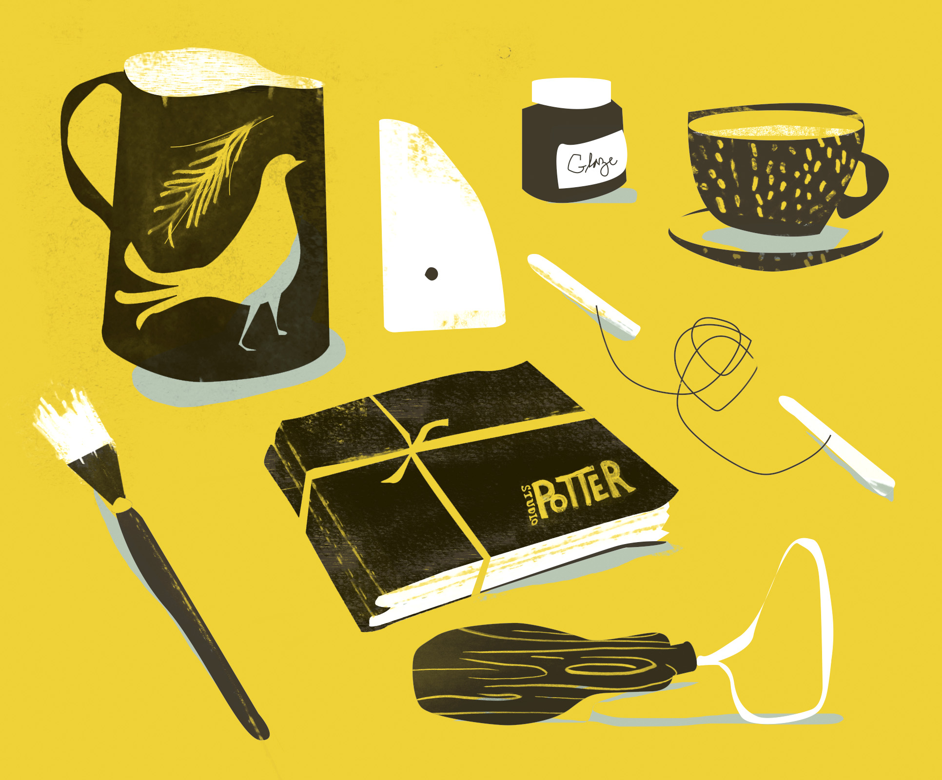 Pottery Illustration
