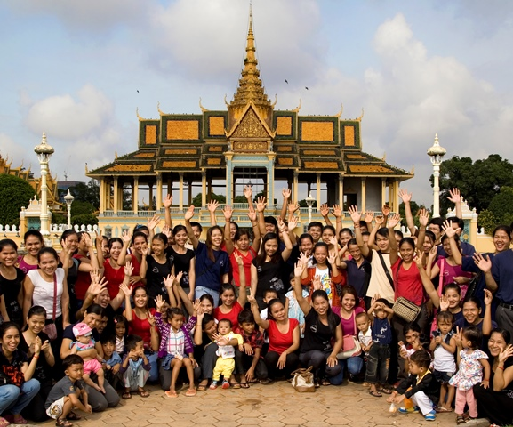 Phnom Penh, Cambodia supporting handmade, eco friendly, fair trade and upcycled bags ensuring maximum impact on the environment and people