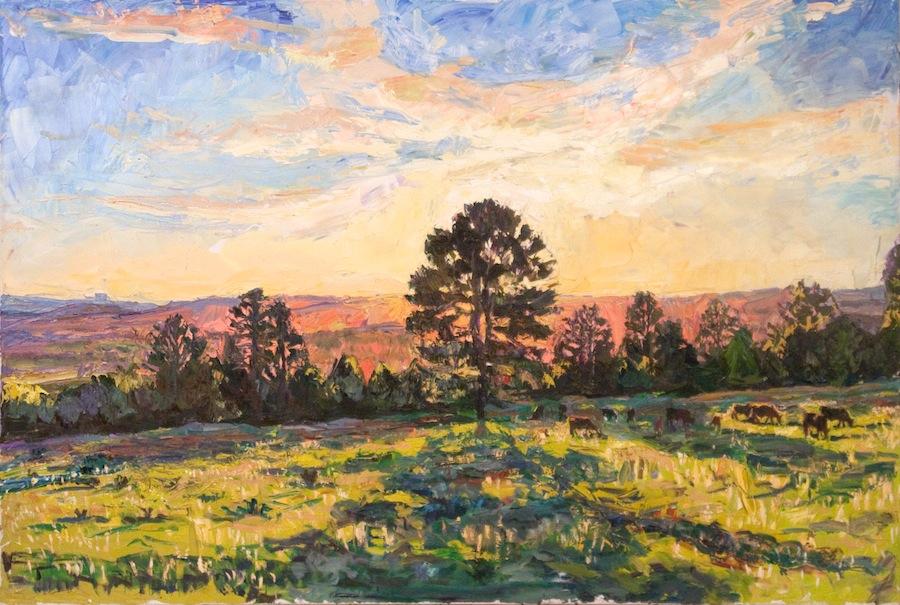 Taos Valley sunset