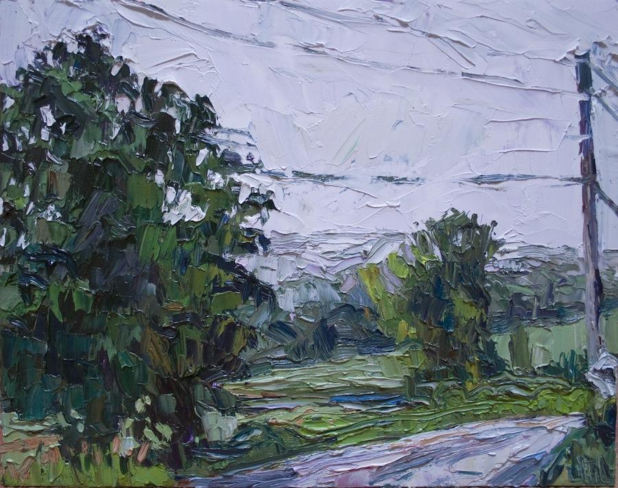 Rainy day in Hawthorne Valley