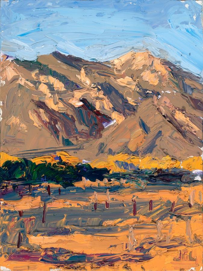 Taos Mountain - orange