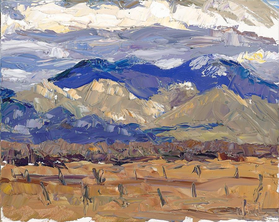 Taos Mountain - cloud calling