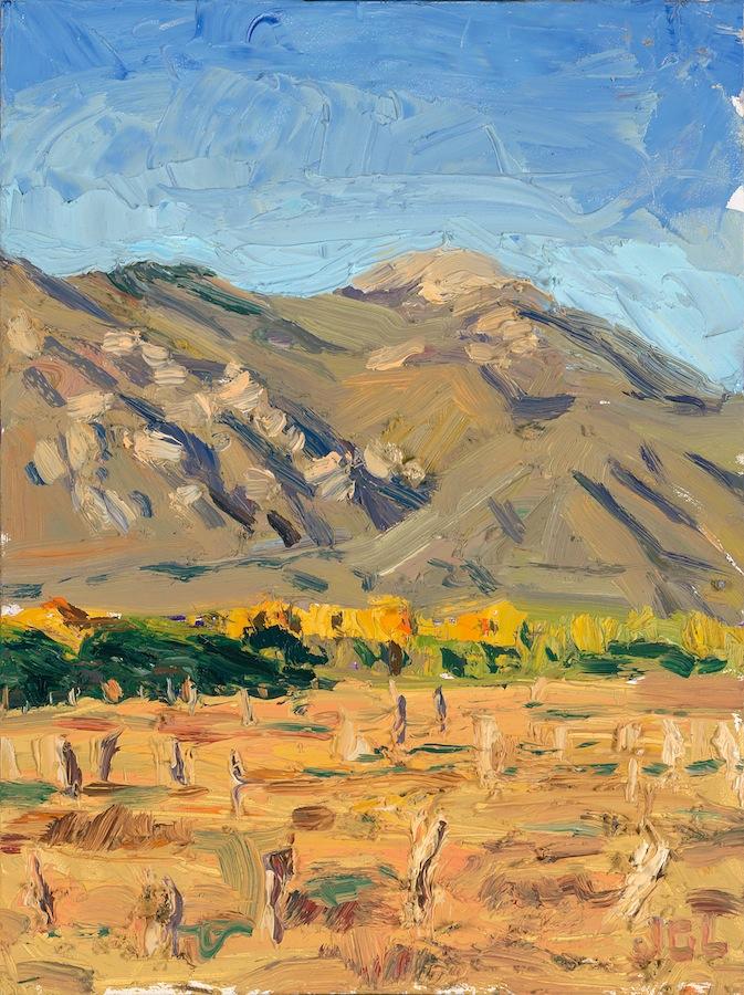 Taos Mountain - yellow