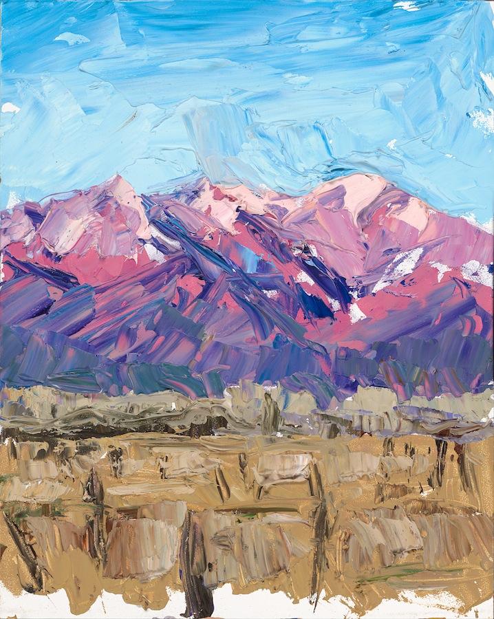 Taos Mountain - pink