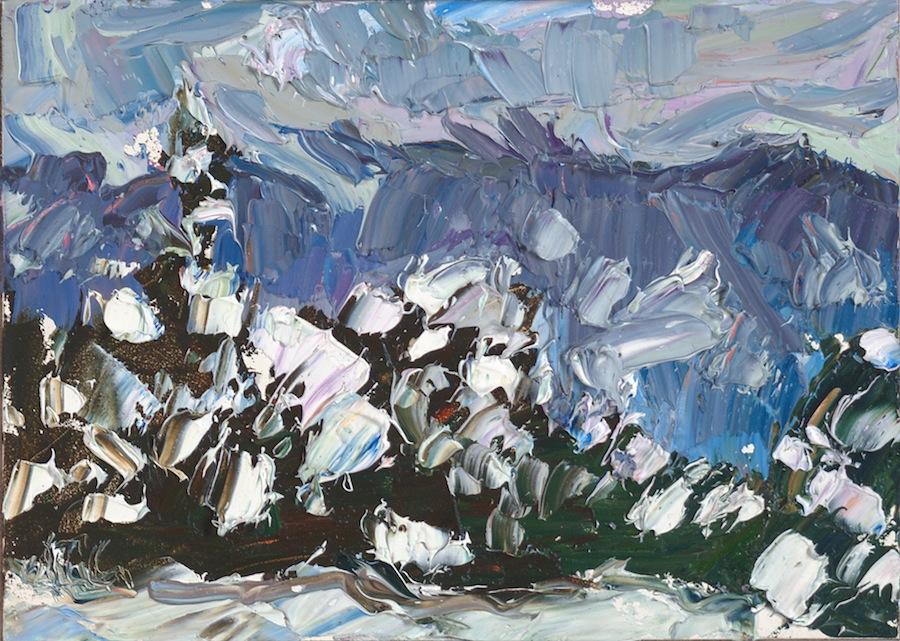 Taos Mountain - bluebird