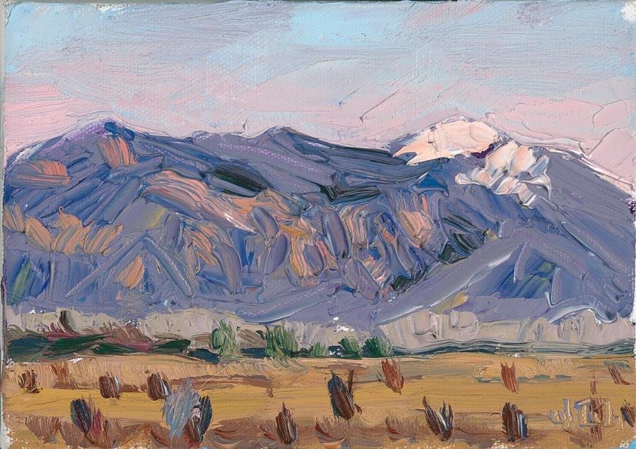 Taos Mountain - violet