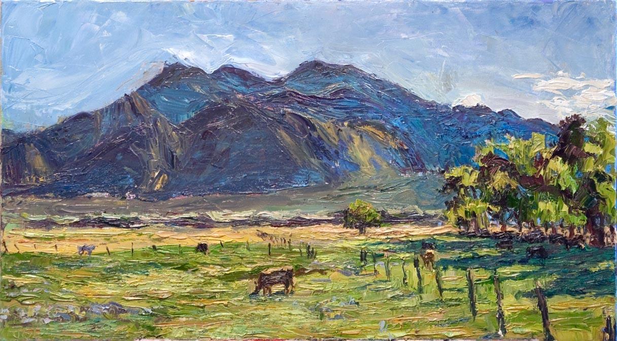 Taos Mountain morning