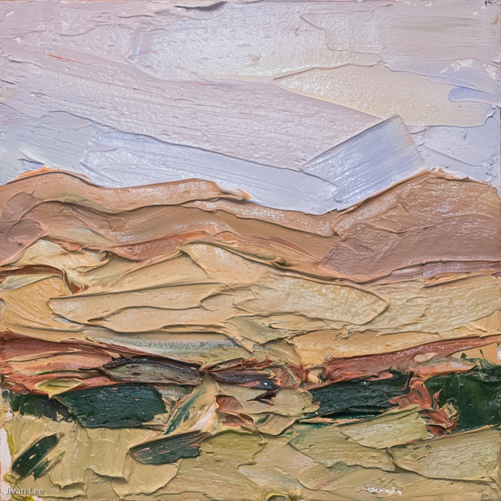 Dusk palette study