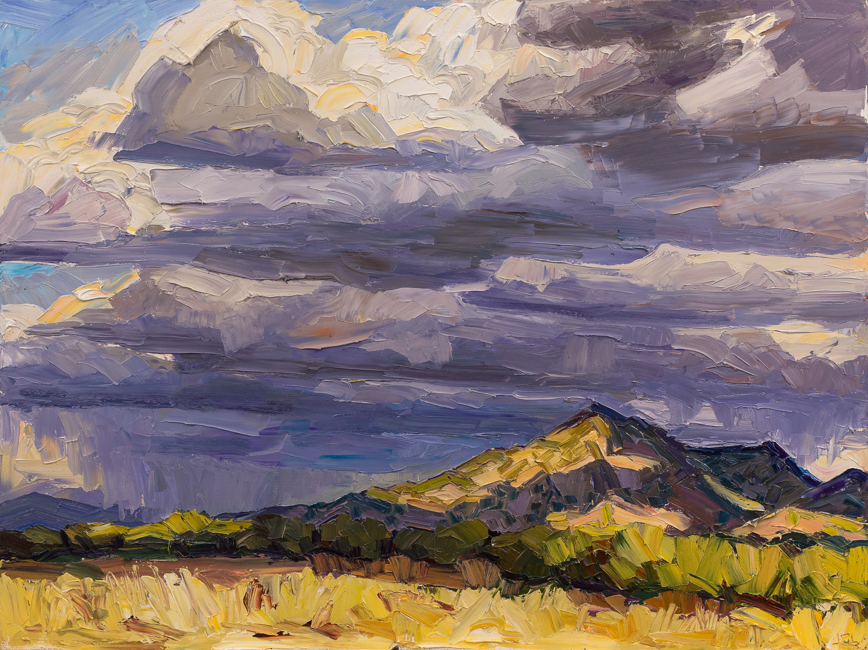 Storms over Santa Fe