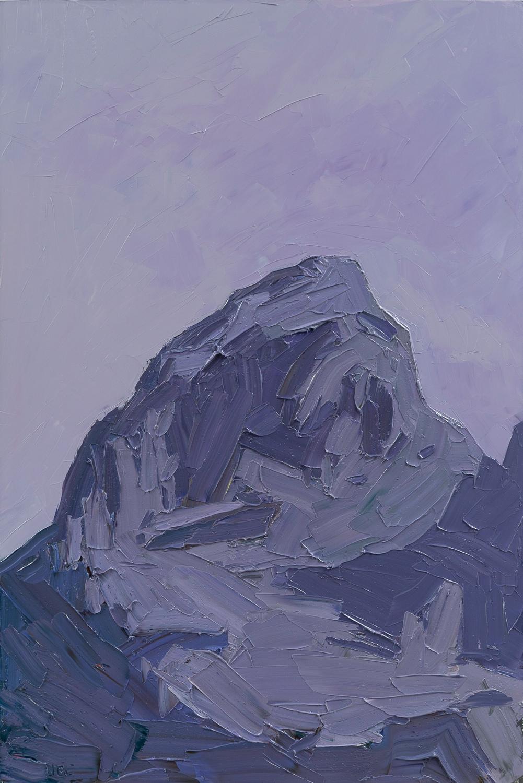 Grand Teton - ROYGBIV - indigo