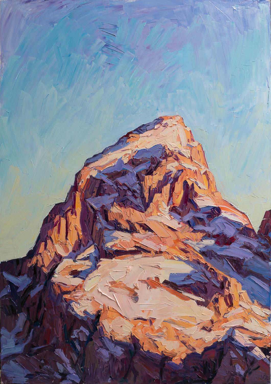 Grand Teton - rising light