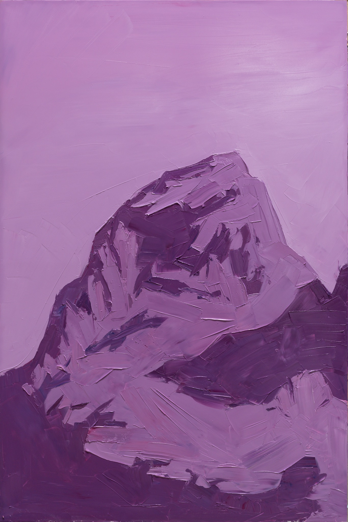 Grand Teton - ROYGBIV - violet