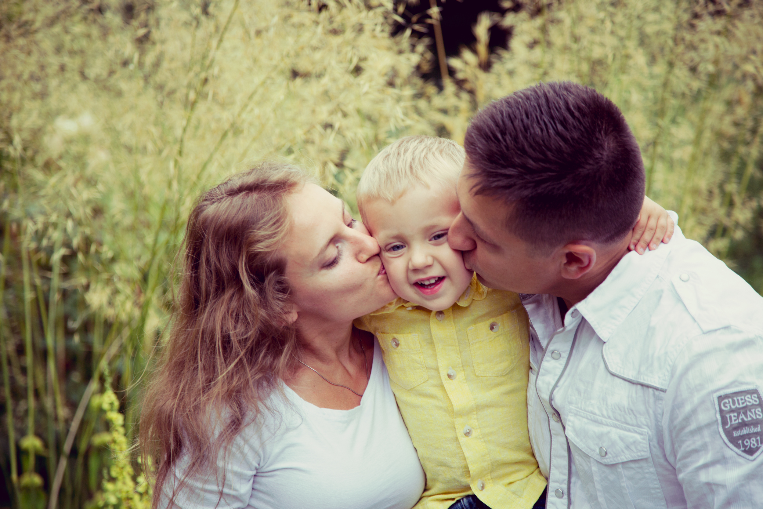 Bellevue Botanical Garden Family Session 4