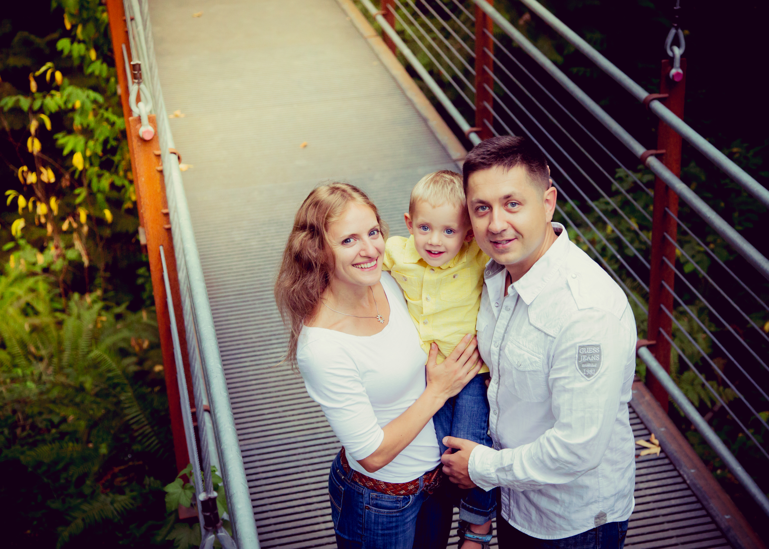 Bellevue Botanical Garden Family Session 6