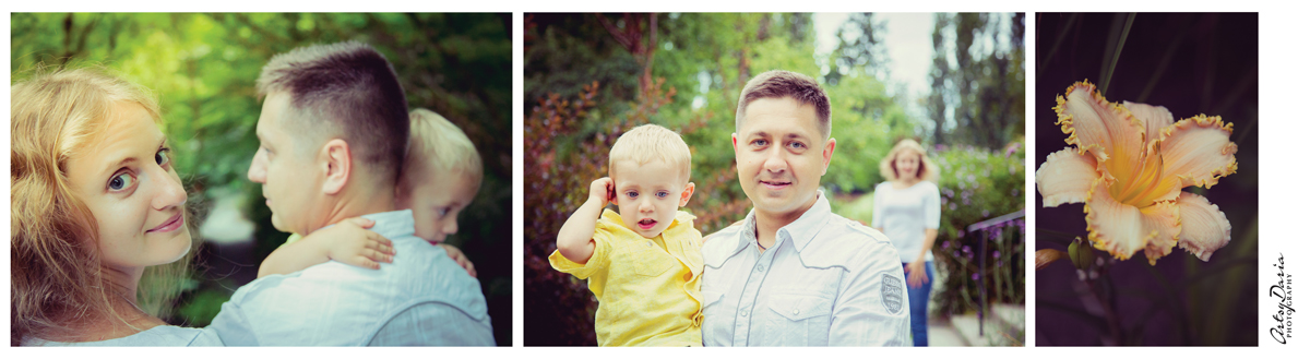 Bellevue Botanical Garden Family Session 8