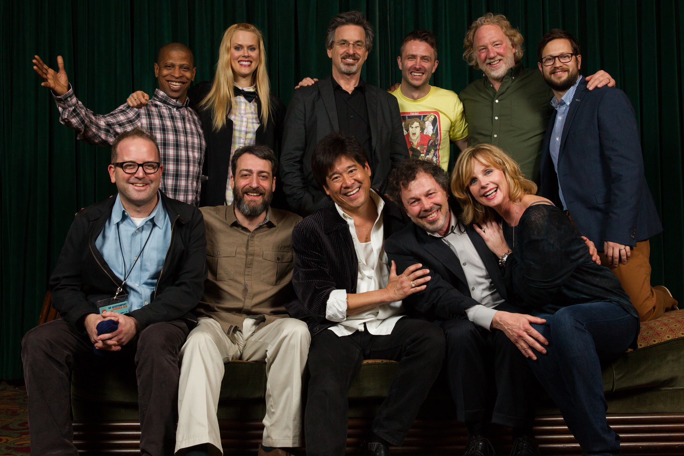 Revenge of the Nerds cast and Chris Hardwick. Photo by Jakub Mosur.