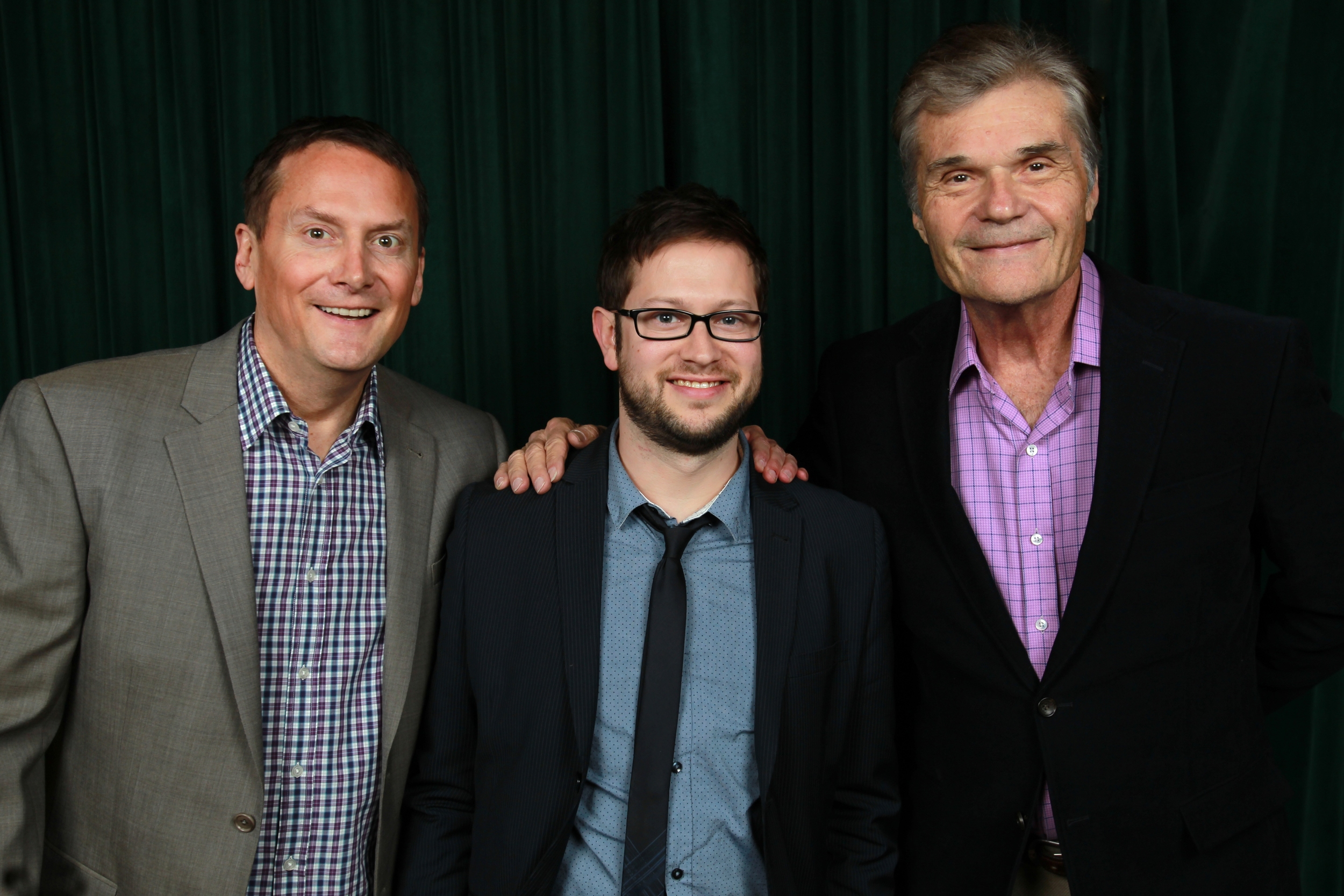 Michael Hitchcock and Fred Willard. Photo by Tommy Lau.