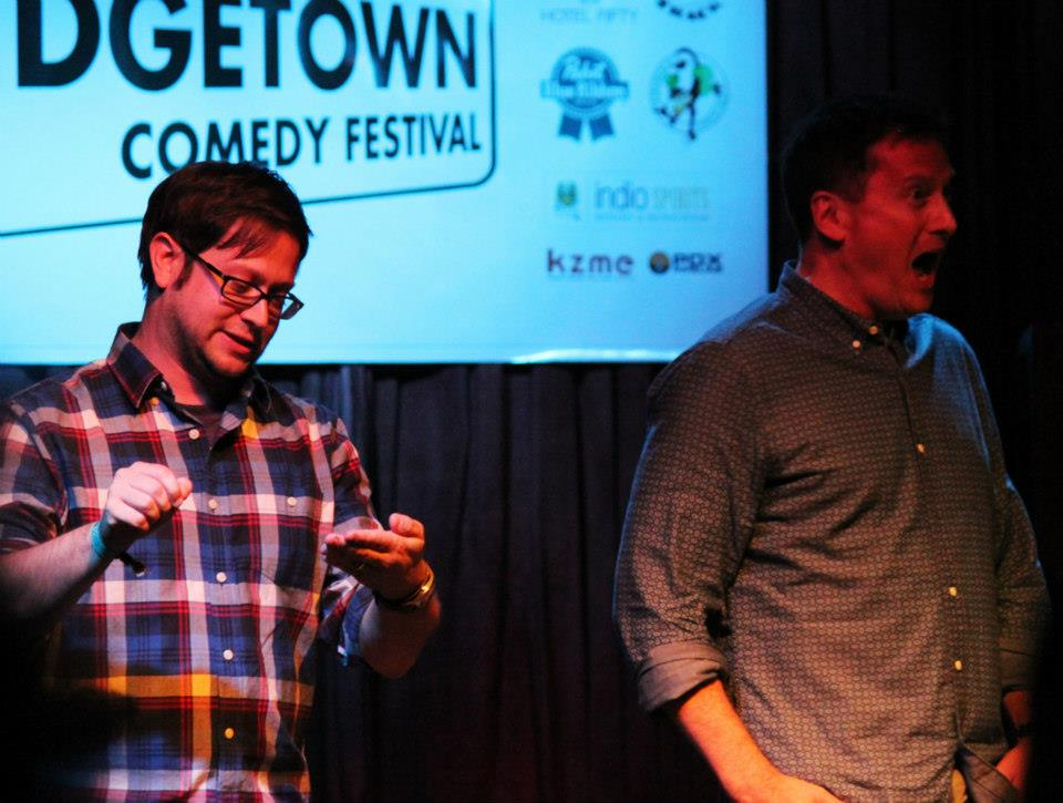 Theme Park with Cole Stratton and Michael Hitchcock at Bridgetown Comedy Festival