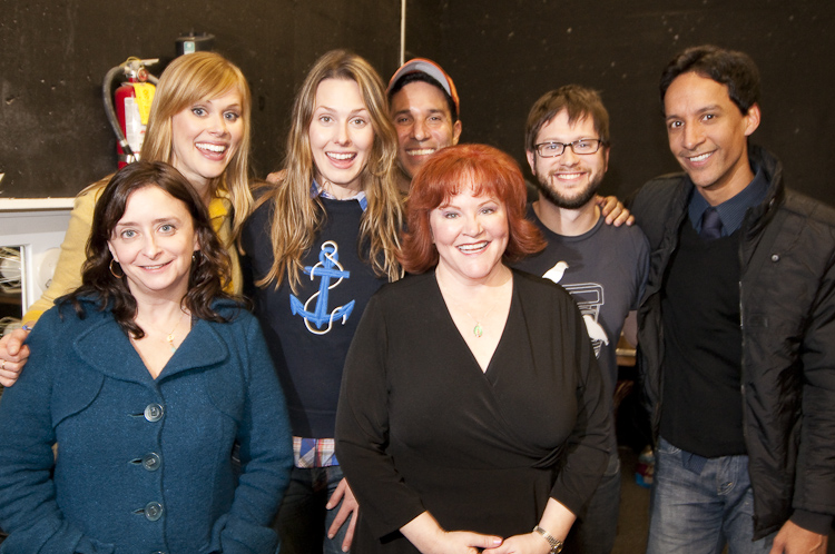 Theme Park with Rachel Dratch, Janet Varney, Jessica Makinson, Edie McClurg, Oscar Nunez, Cole Stratton and Danny Pudi at SF Sketchfest