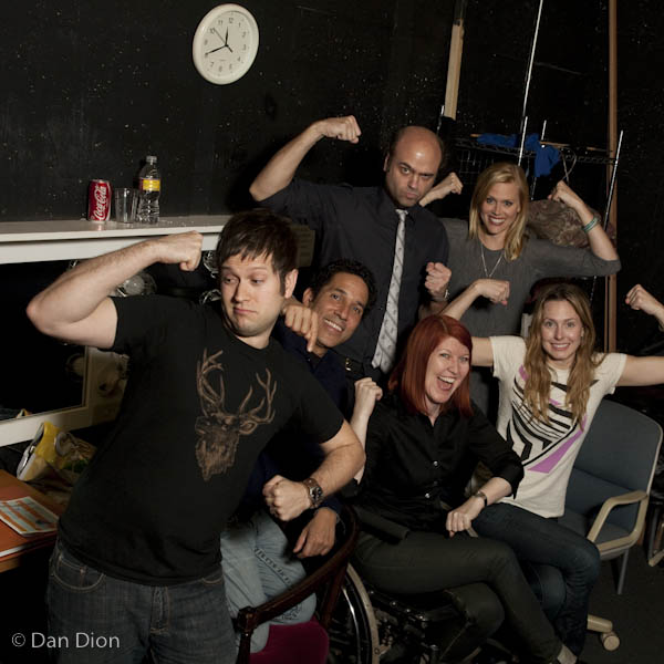 Theme Park with Cole Stratton, Oscar Nunez, Scott Adsit, Janet Varney, Kate Flannery and Jessica Makinson at SF Sketchfest