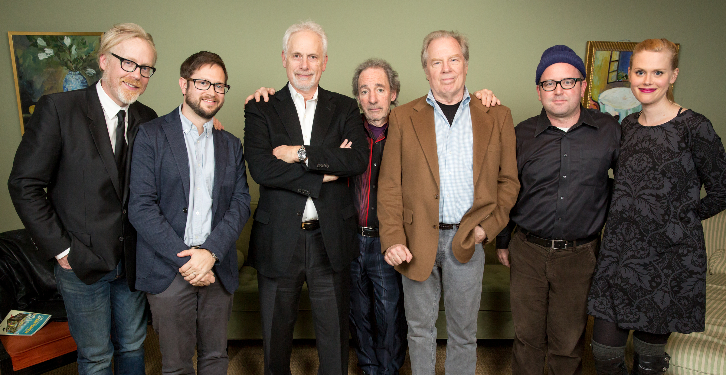 Adam Savage, Christopher Guest, Harry Shearer and Michael McKean. Photo by Jakub Mosur.