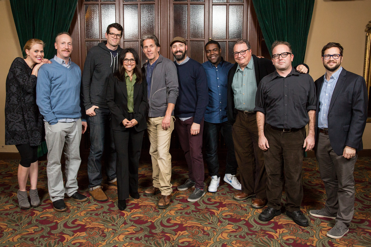 The cast of VEEP. Photo by Jakub Mosur.
