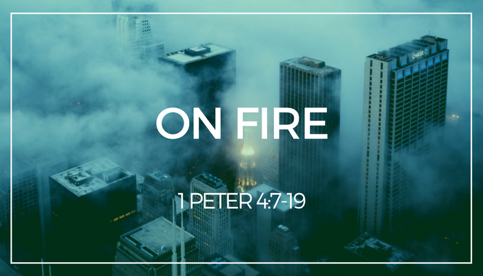 "Do you want to be ""on fire"" for Jesus? According to Peter, that may come in the fires of tribulation and suffering. Pastor Pilgrim Benham teaches 1 Peter 4:7-19 in our Exiles In Hope series at Shoreline Church!"