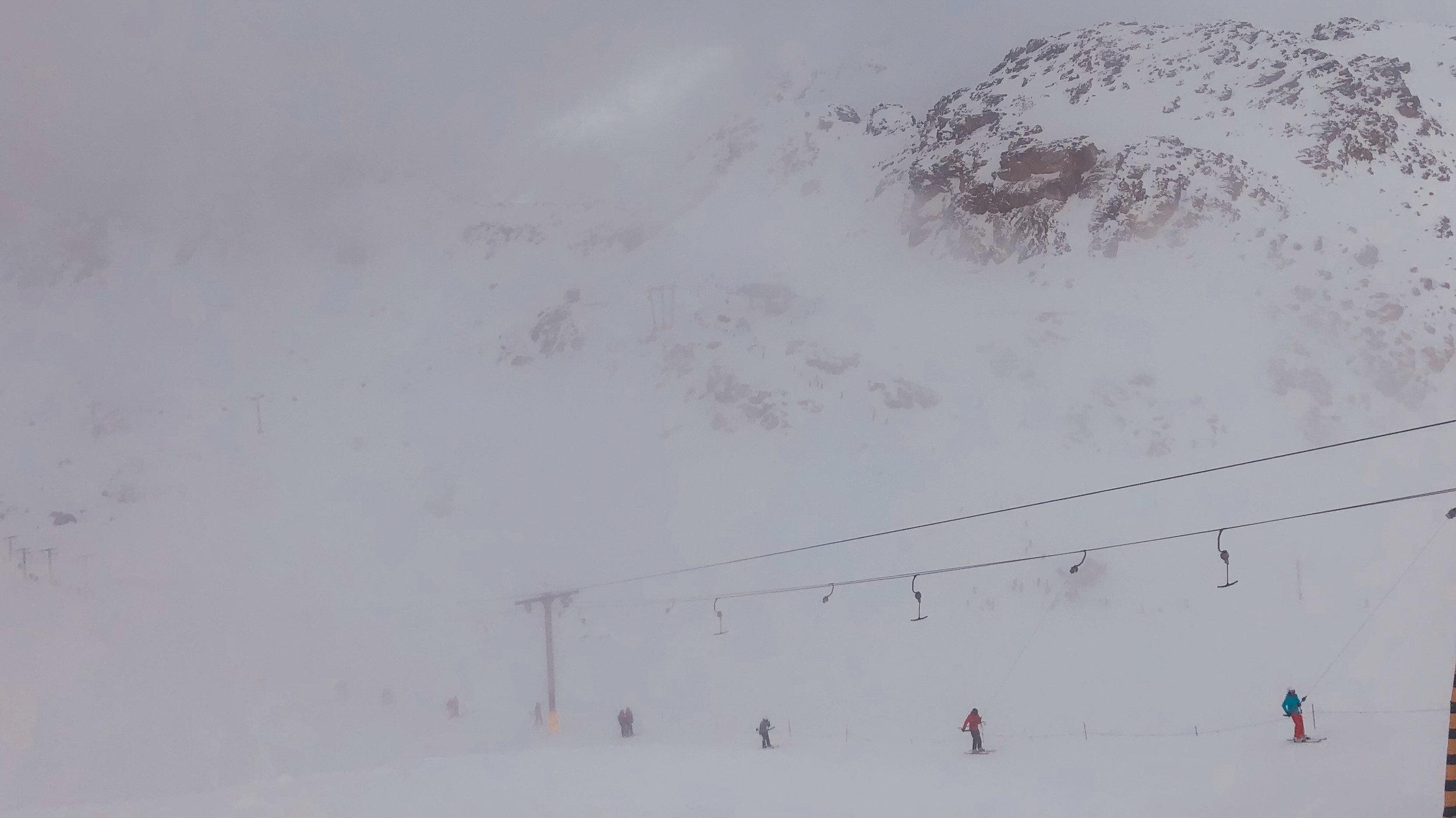 whistler 2018 - blackcomb glacier