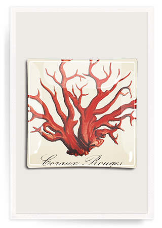 red coral decoupage glass tray bens garden.png