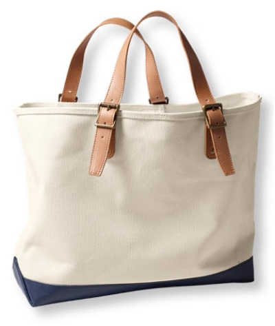 LL Bean Signature Somerset Canvas Tote