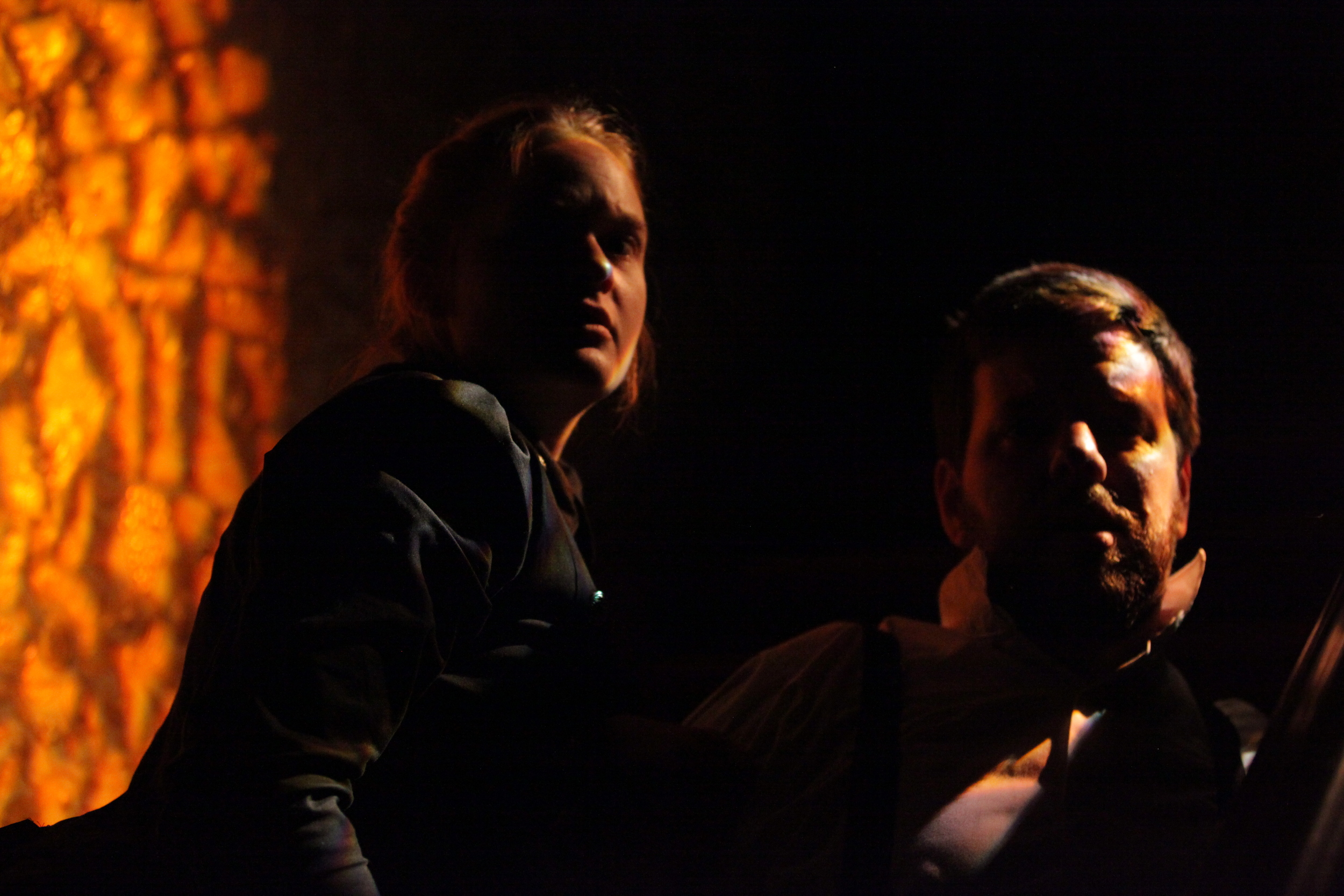 Stephen Libby and Anna Waldron in The Turn of the Screw. Photo by Kyler Taustin.