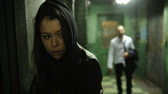 "Tatiana Maslany stars as multiple clone characters in BBC's ""Orphan Black"" (Photo Courtesy BBC America)"