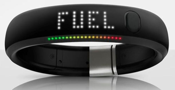 Nike's Fuelband Device (Courtesy Nike)