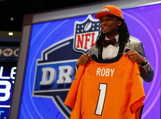 Broncos 2014 Draft Pick Bradley Roby will look as good in orange and blue as he can rock a bow-tie. (Courtesy Denver Post)
