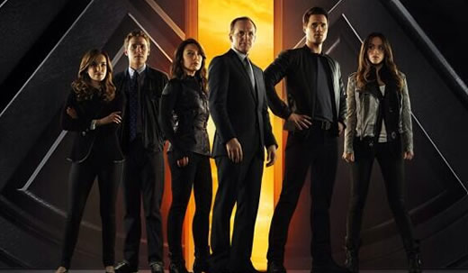The Cast of Agents of S.H.I.E.L.D.'s freshman season sees the really big door behind them open up to a second season. (Courtesy ABC)
