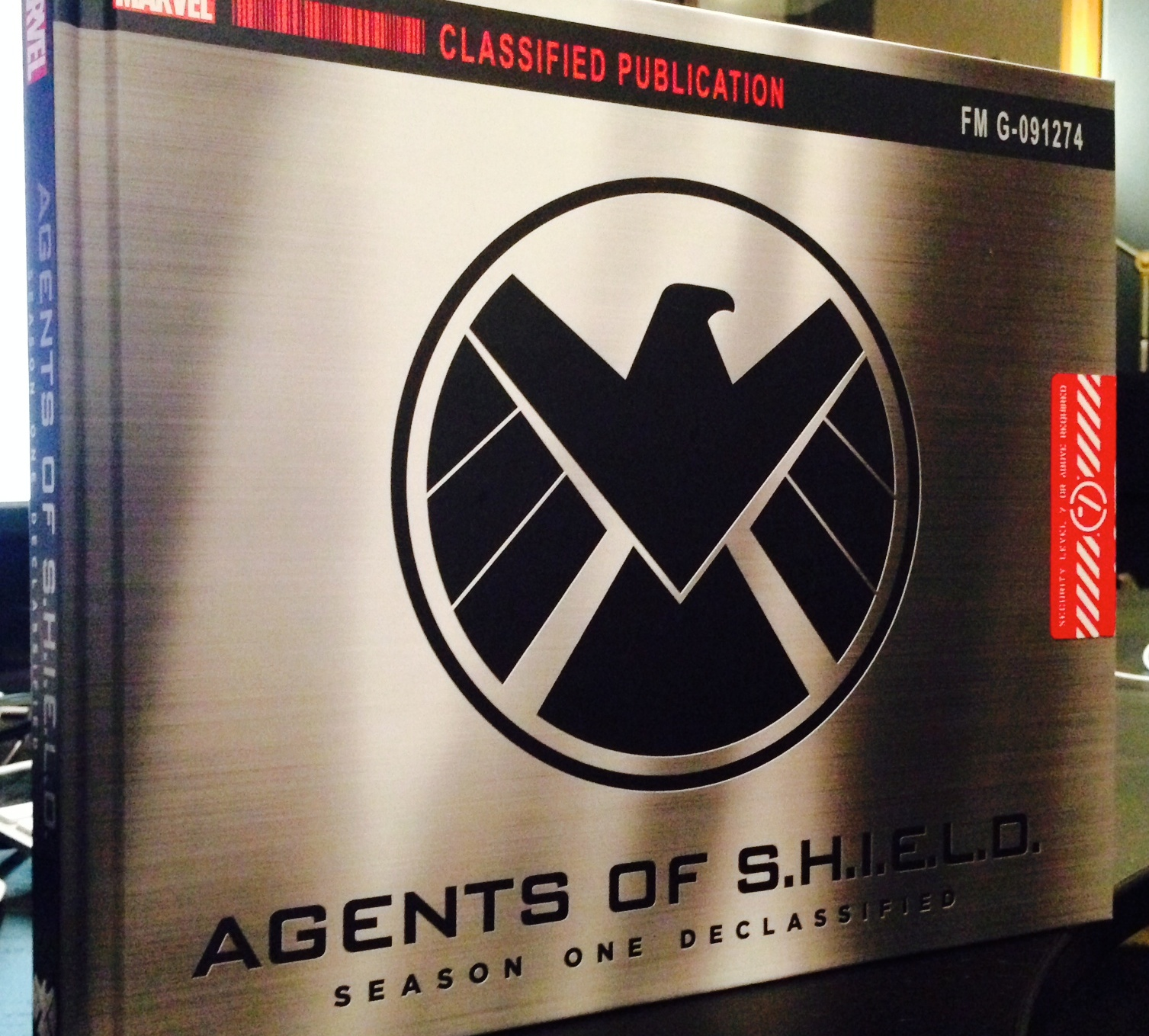 Marvel's Agents of S.H.I.E.L.D. Season One Declassified - published by Marvel - in all its glory.