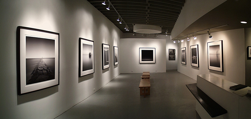Prints matted and framed at the Paul Kopeikin Gallery Los Angeles, California