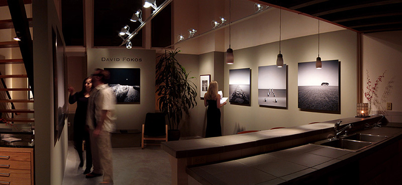 Prints mounted on Aluminum at No. 4 Gallery San Diego, California