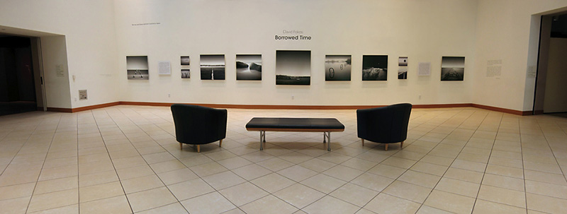 Prints mounted on Aluminum at the Museum of Photographic Arts San Diego, California