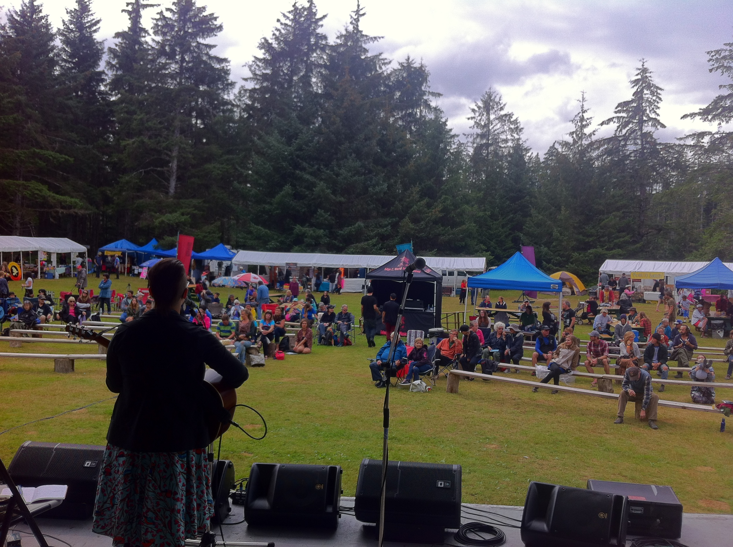 Edge of the World Festival, Mainstage  - Haida Gwaii, BC