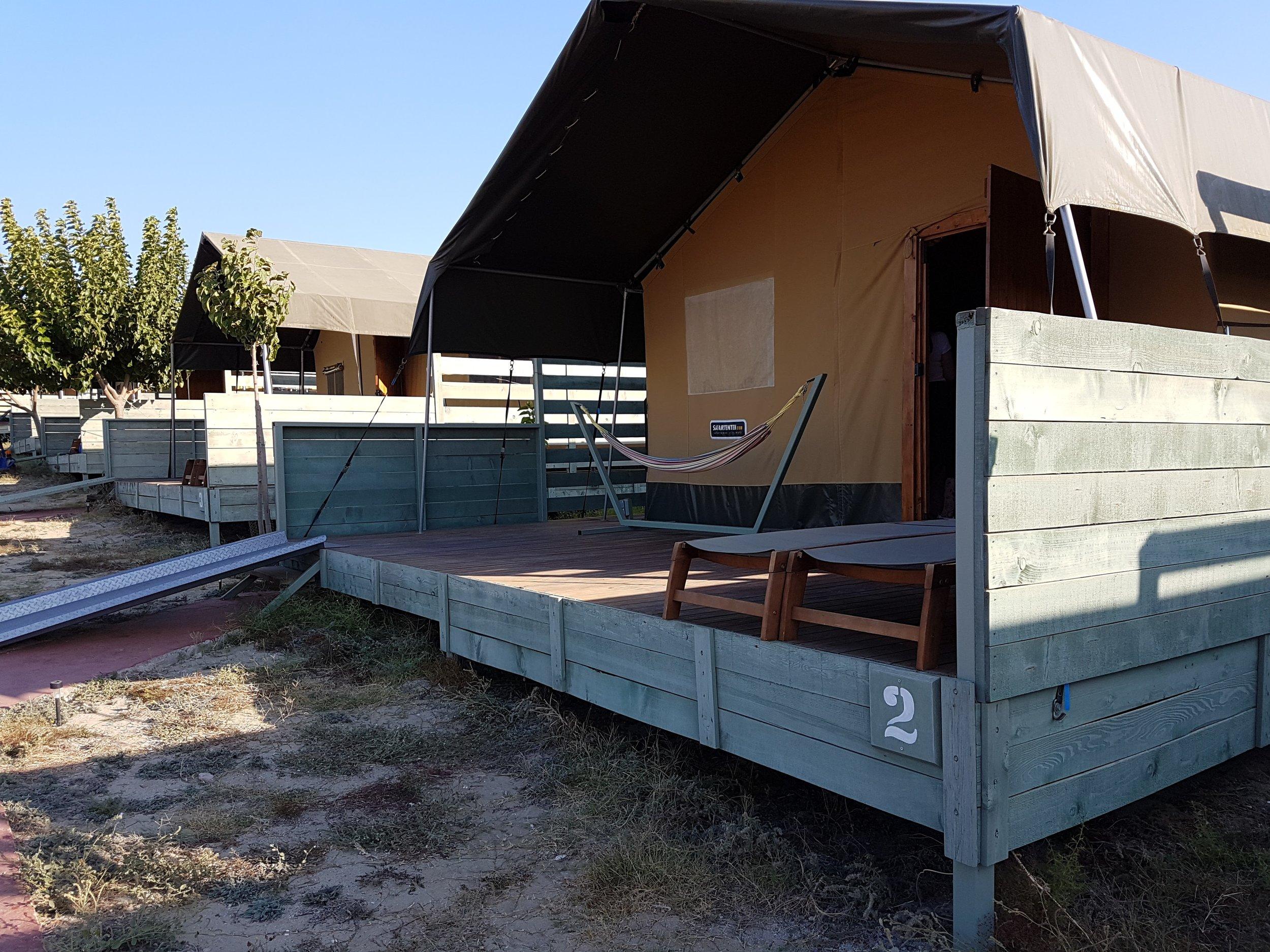 Surf Club Keros Tent Accommodation