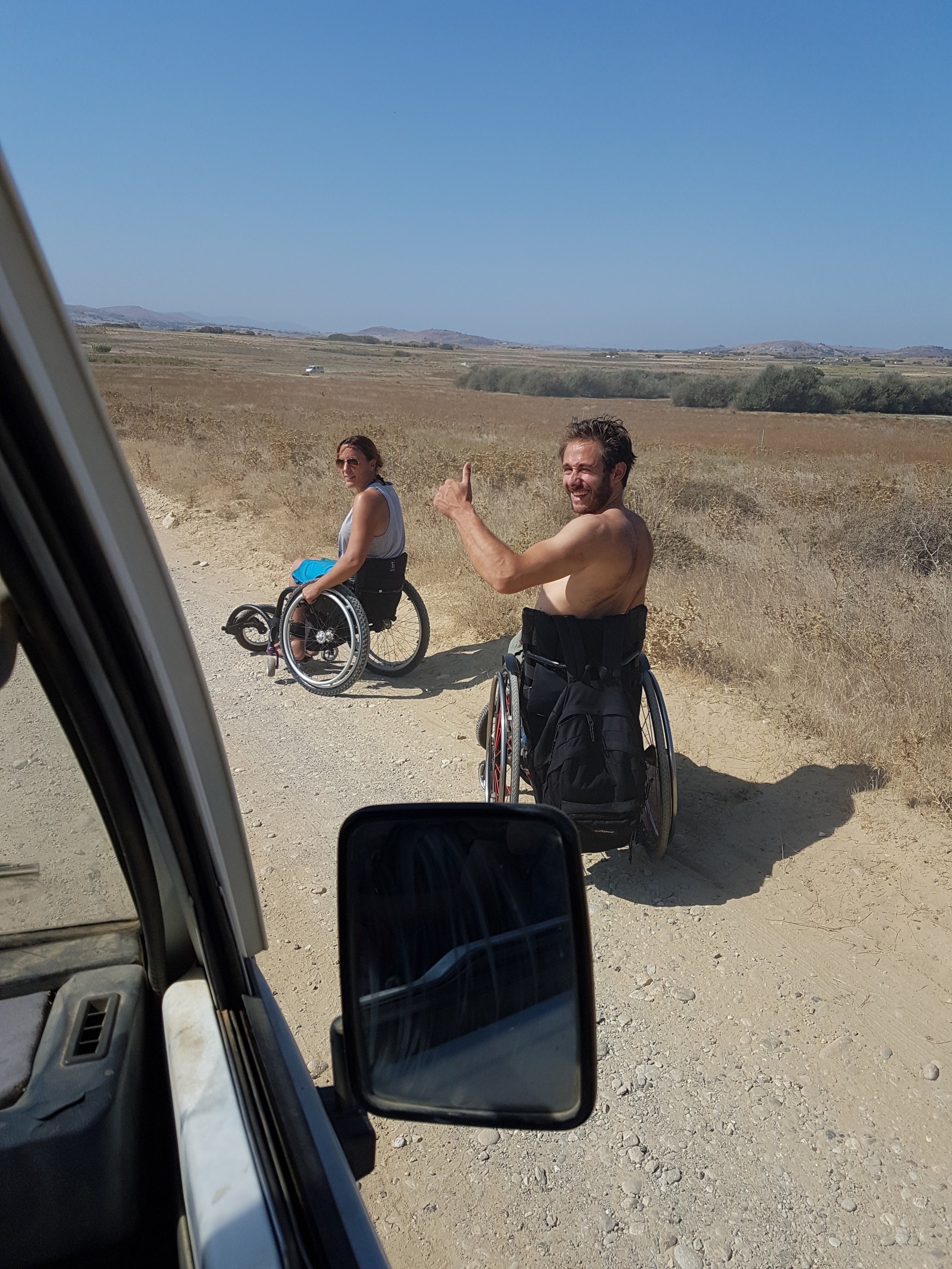 Travelling To The Beach - Day 1 - Jane and Robbert