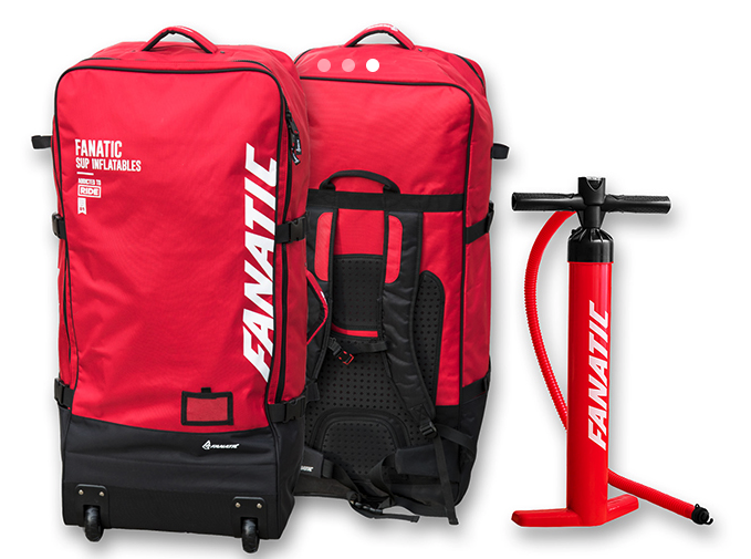 Fanatic SUP Premium Back Pack and Power Pump HP2