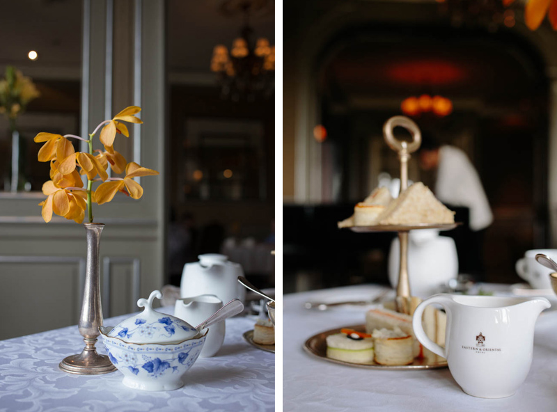 All of the details are impeccable - from the smooth service to the fine china.